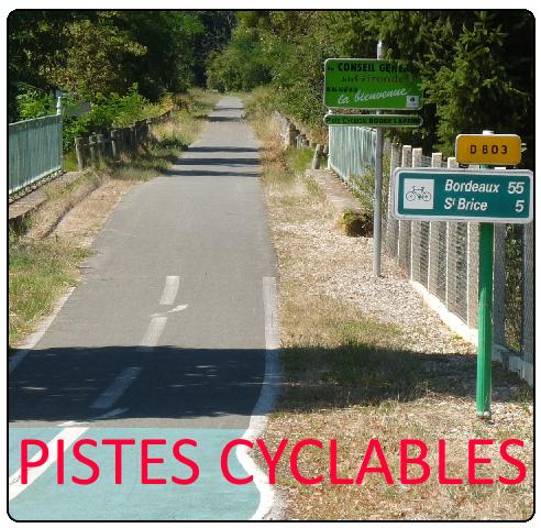 Télécharger les plans des pistes cyclables