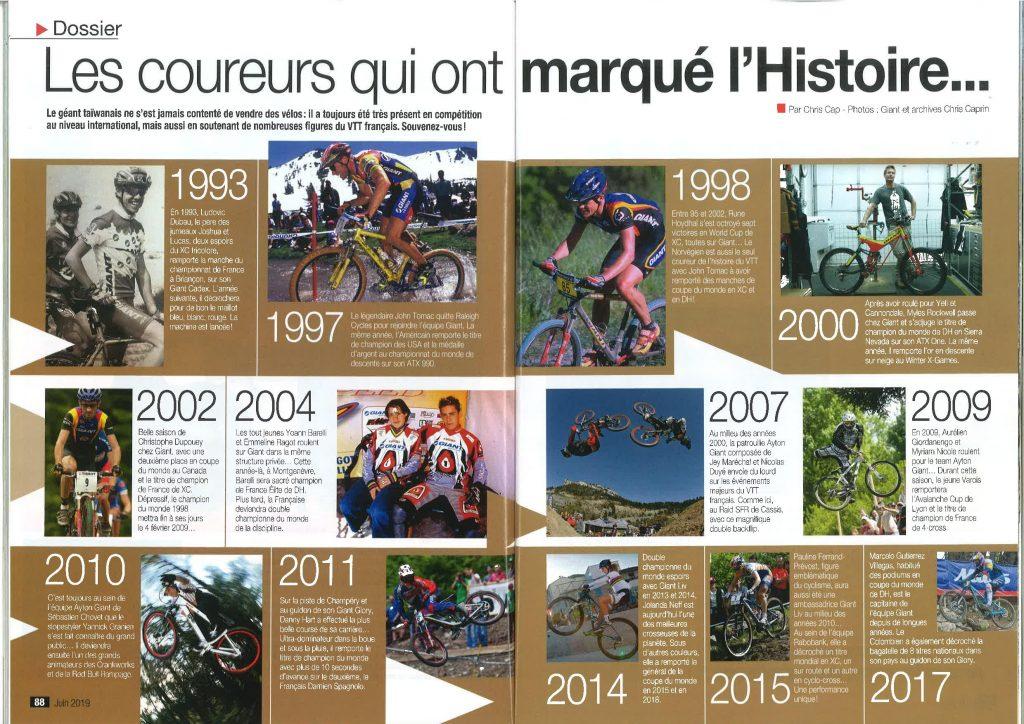 HistoireGiant VTTMagazine N°337 Mai p.78 99 page 006 2